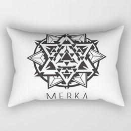 Galatic Merkaba Rectangular Pillow