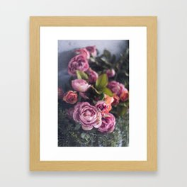 dreaming in color Framed Art Print