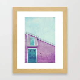 Old Fish Factory Framed Art Print