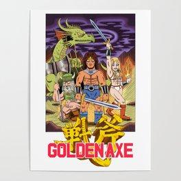 GOLDEN AXE Poster