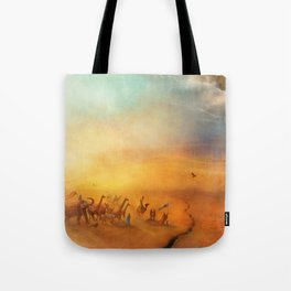 The Low Plain of Decision Tote Bag