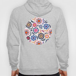 Happy Color Suzani Inspired Pattern Hoody