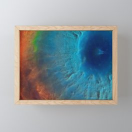 Colorful space. Framed Mini Art Print