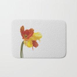 Tulip Still Life Bath Mat