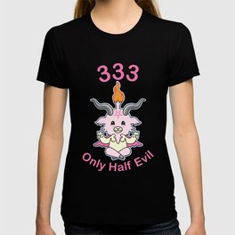 333  Only Half Evil For Pastel Goth And Kawaii T-shirt