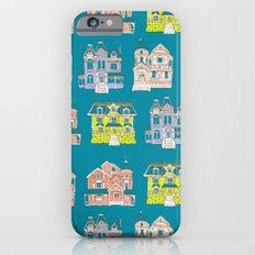 Victorian Homes Pattern Slim Case iPhone 6s