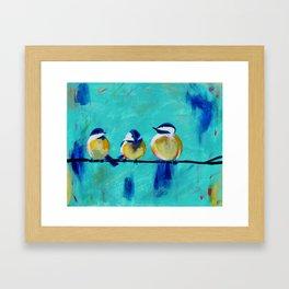 Tweet, Tweet Framed Art Print