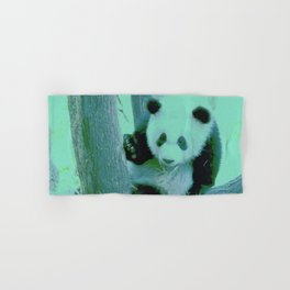 Panda Bear Hand & Bath Towel