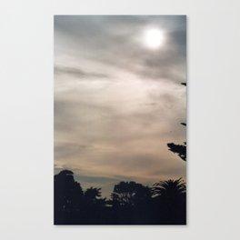 California Moon Canvas Print