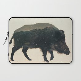 Veluwe: Wild Boar Laptop Sleeve