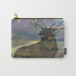 """""""White Tail Deer"""" Carry-All Pouch"""