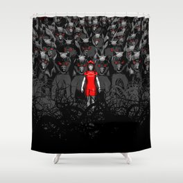 Girl N the Hood Shower Curtain