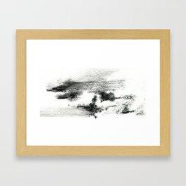 Black/white#2 Framed Art Print