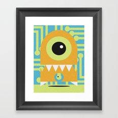 NANOBOT Framed Art Print