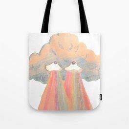 Cloud pink Tote Bag