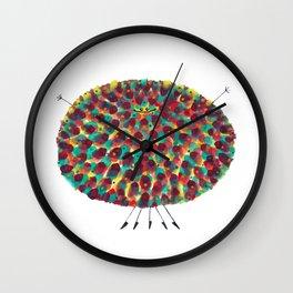 Poofy Aziz Wall Clock