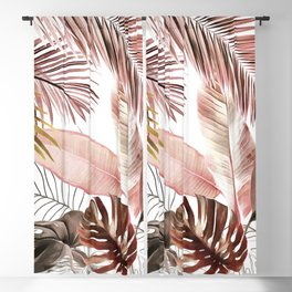 Tropical Foliage 03 Blackout Curtain