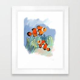 Clownfish for Sophie Framed Art Print