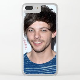 Harry's eyes Clear iPhone Case