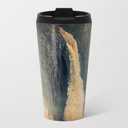 Barron Falls in retro style Travel Mug