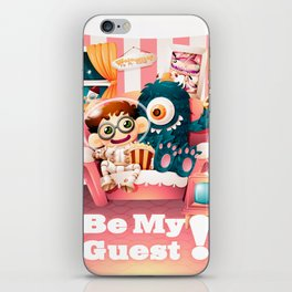Be My Guest! iPhone Skin