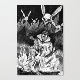 Hunter Beware Canvas Print