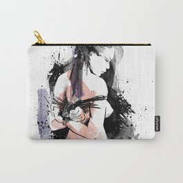 Shibari - Japanese BDSM Art Painting #9 Carry-All Pouch