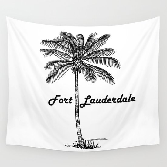 Fort Lauderdale Wall Tapestry