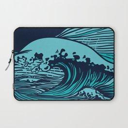 Storming sea Laptop Sleeve