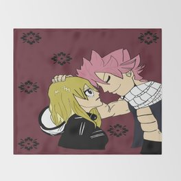 Nalu in color Throw Blanket
