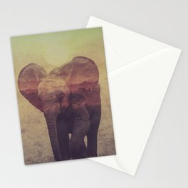 Little ones: Elephant Stationery Cards