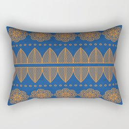 Indian Designs 206 Rectangular Pillow