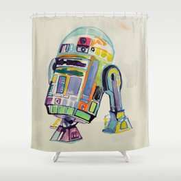 R2 Shower Curtain