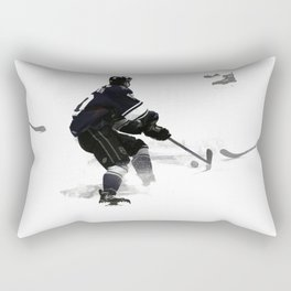 The Deke - Hockey Player Rectangular Pillow