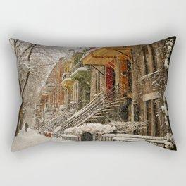 The Great Silence Rectangular Pillow