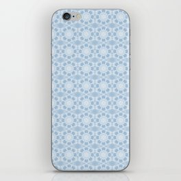 Project 503 | White Lace on Periwinkle iPhone Skin