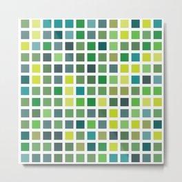 City Blocks - Plant #486 Metal Print