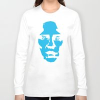 christopher walken Long Sleeve T-shirts featuring Walken by Aaron Synaptyx Fimister