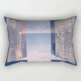 Room -A- Post Biological Era Rectangular Pillow
