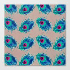 Peacock Feathers no.2 Canvas Print