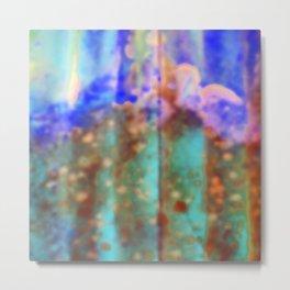 blue blur Metal Print