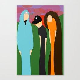 The Prime Trio Canvas Print