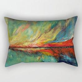 Aurora Dance Rectangular Pillow