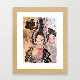 Frank's Wife Framed Art Print