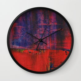 Simon Carter Painting Tyr's River Wall Clock