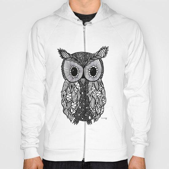 crazy owl Hoody