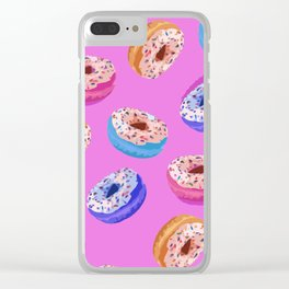 Donuts Party I Clear iPhone Case