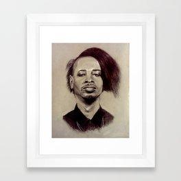 Detroit Danny Framed Art Print