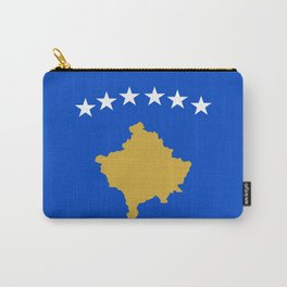 Kosovo country flag Carry-All Pouch
