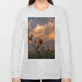 Dirt Road Sunflower Long Sleeve T-shirt